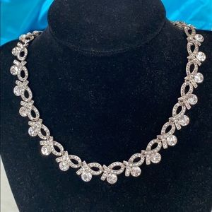 CZ 'Loop of Hope' Adjustable Necklace